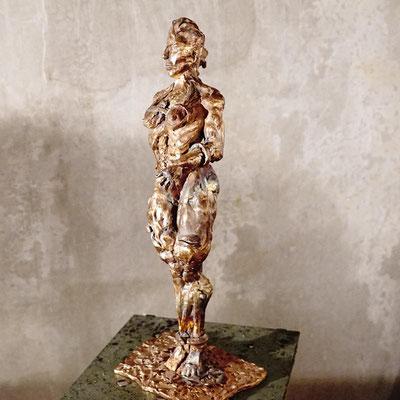arte figura | Princess (Bronzefigur) | Bronze massiv, 50 cm hoch