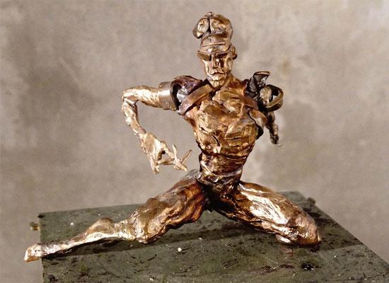 arte figura | Hetär 2 (Bronzefigur) | Bronze, 22 x 27 cm