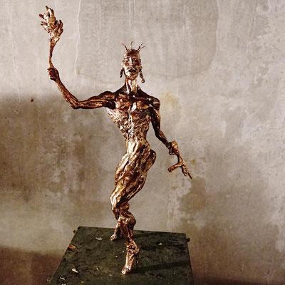 arte figura | Sa Pientia (Bronzefigur) | Bronze massiv, 60 cm hoch