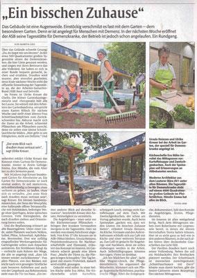 Artikel vom 08. September 2016, Pfälzische Volkszeitung