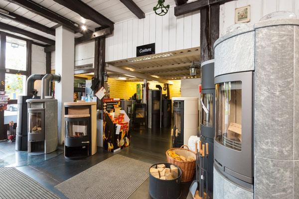 Kamine und Öfen Ausstellungsbereich