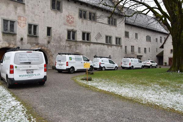 Ritterhaus Bubikon; Sanierung / Erweiterung Brandmeldeanlage