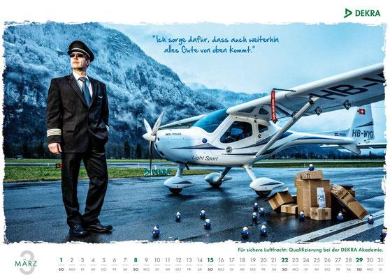 DEKRA Akademie Kalender 2015 - März