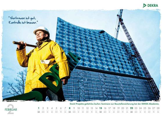 DEKRA Akademie Kalender 2015 - Februar