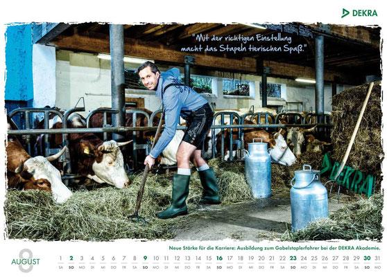 DEKRA Akademie Kalender 2015 - August