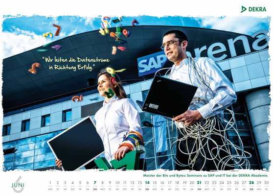 DEKRA Akademie Kalender 2015 - Juni