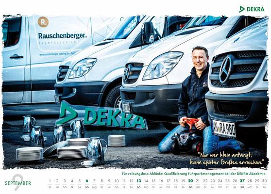DEKRA Akademie Kalender 2015 - September