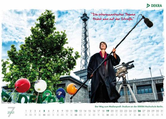 DEKRA Akademie Kalender 2015 - Juli
