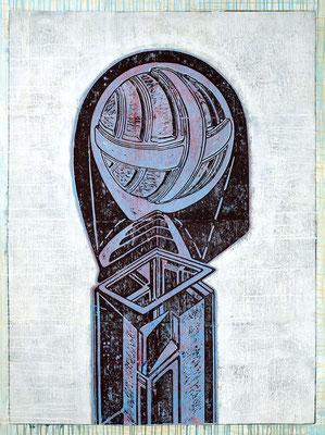 Der Späher (Funkdienst) III - 2018 - 170 x 130 cm