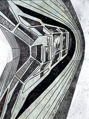 Wallbrecher I - 2018 - 170 x 130 cm