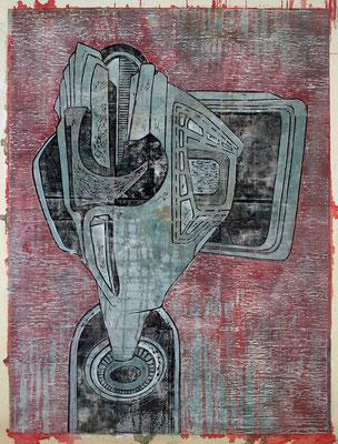 Der Verhandler III - 2017 - 170 x 130 cm