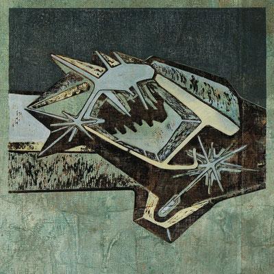 Sternverwalter III - 2019 - 70 x 70 cm