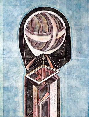 Der Späher (Funkdienst) I - 2018 - 170 x 130 cm