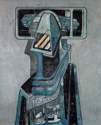 Der Beobachter II - 2017 - 170 x 130 cm