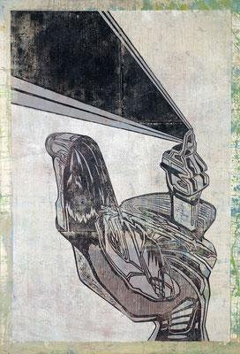 Der Strahler III - 2016 - 130 x 70 cm