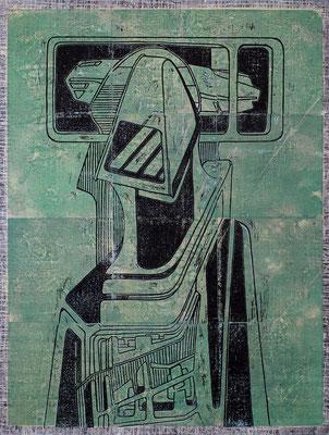 Der Beobachter III - 2017 - 170 x 130 cm