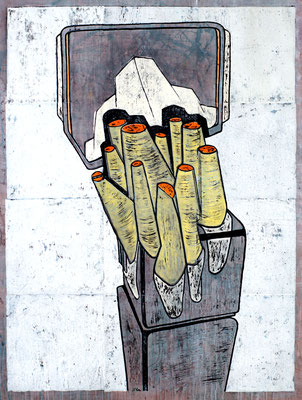 Spiegelturm II - 2018 - 170 x 130 cm