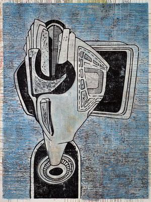 Der Verhandler II - 2017 - 170 x 130 cm