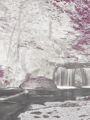 """waterfall"" - pesenbach mühlviertel - ART edition - size XL - picture ID 227233-DL 3x4"