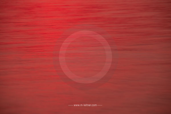 """sunset IV"" - structures water - attersee - size L - picture ID 203581"