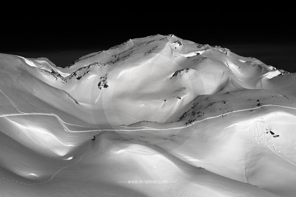 """""""snow structures V"""" - ART edition - Size M - picture ID 1848"""