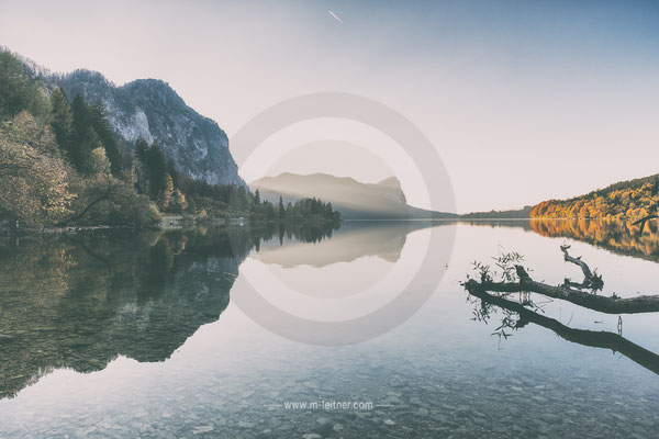 """""""autumn at lake"""" - mondsee - ART edition - size L - picture ID 202412-2"""