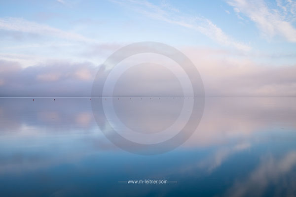 morgens am see - attersee - picture ID  105105 ART