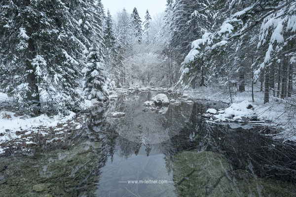 """""""cold river"""" langbathsee - ART edition - size L - picture ID 204618"""