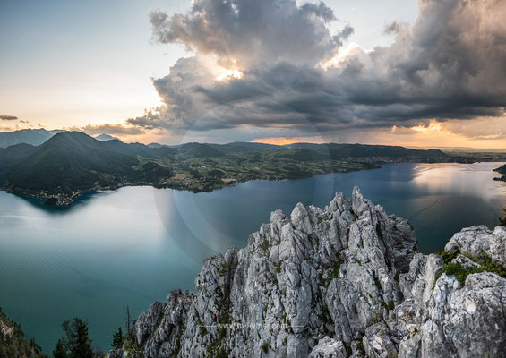 """""""view traunsee"""" kl. schönberg - traunsee - ART edition - size L - picture ID 223528"""