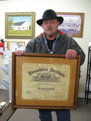 Jerry Tittle at the FCGS Show & Tell program, January 2016