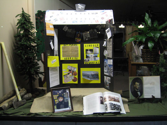 FCGS Lincoln Trifold display by Laughton, Feb. 2016
