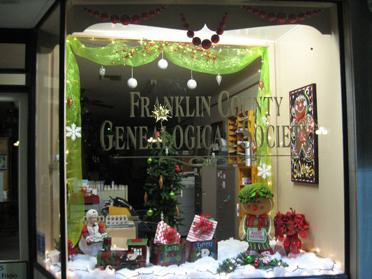 FCGS Christmas window 2015