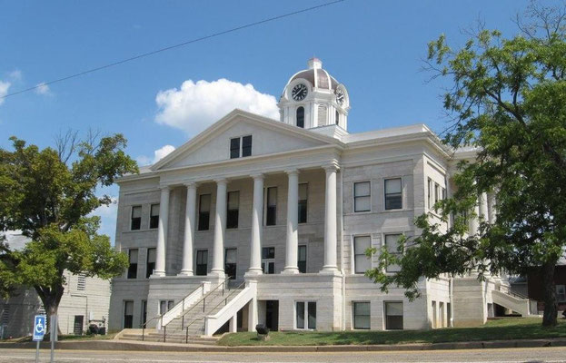 Franklin County Courthouse just after its restoration in Sept. 2014
