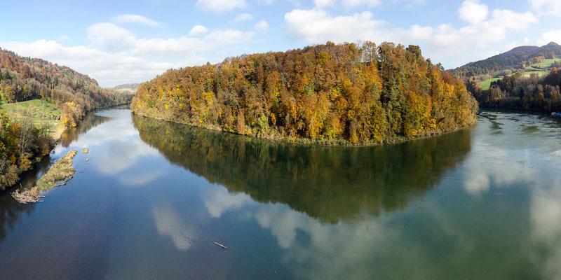 Herbstfarben an der Tössegg