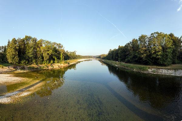 Niedrigwasser am 7.8.2015: 7.5 m3/s