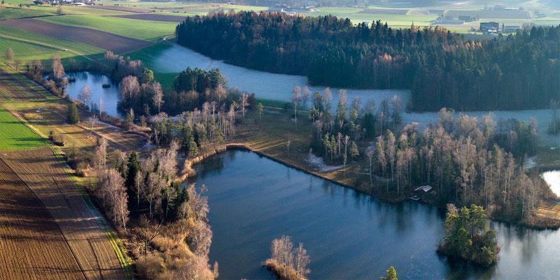 Detail der östlichen Seen.