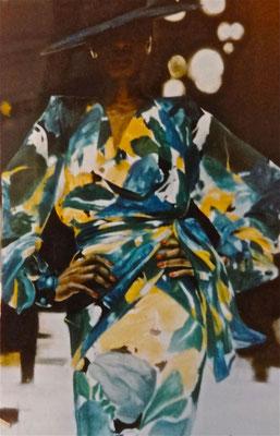 """""""Givenchy""""  pastel sec 130 x 100 cm"""