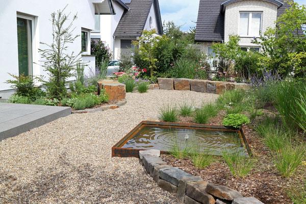 Junger Garten Ohne Rasen Pia Konrad