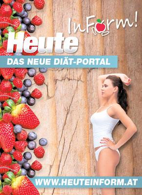 """Konzept- und Rezepterstellung """"Heute in Form""""-Diät"""