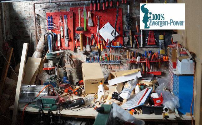 Gartenzwerge Werkstatt