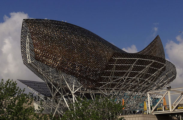 Barcelona 2012 - Skulptur von Frank Gehry by Ralf Mayer