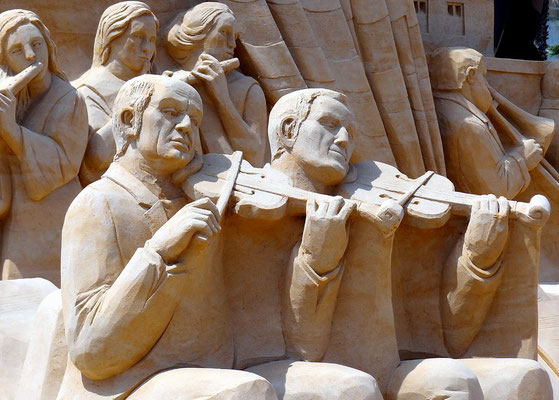 Barcelona 2012 - Skulptur aus Sand by Ralf Mayer