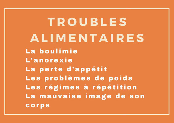 psychologue clinicien, troubles alimentaires
