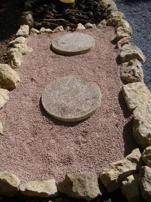 Split und Stein...