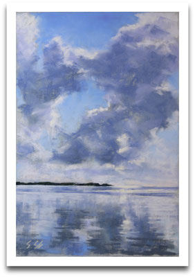 Wolkentag, 20 x 30 cm