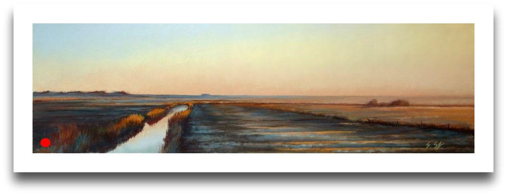Frostiger Morgen, 18 x 60 cm