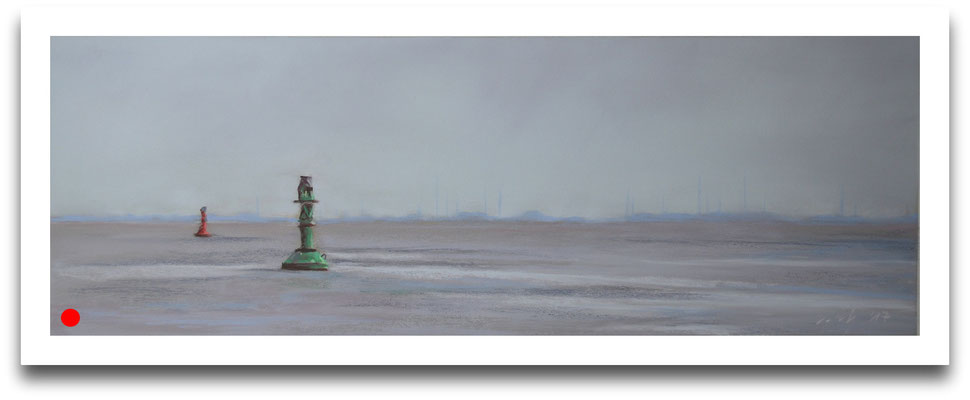 Grauer Tag, 17 x 50 cm