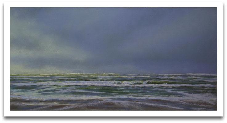 Nordseewetter, 25 x 50 cm