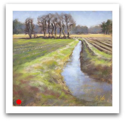 In den Feldern, westerwiede, 20 x 20 cm