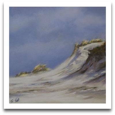Sturm voraus, 20 x 20 cm